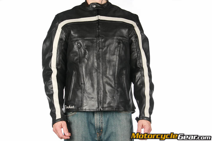 Black old school jacket