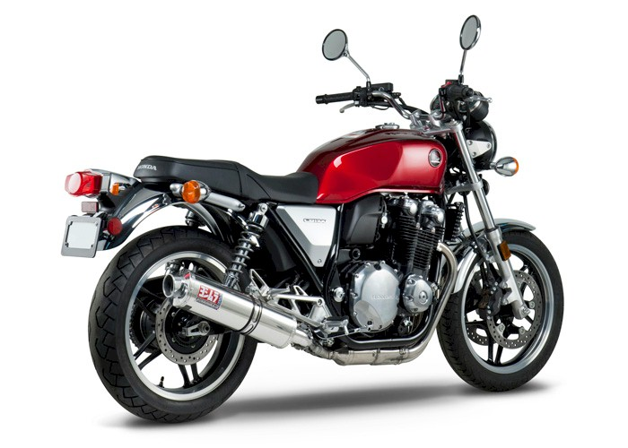 viewing images for yoshimura honda cb1100 2013 rs 3 slip on exhaust. Black Bedroom Furniture Sets. Home Design Ideas