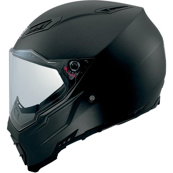 AGV AX-8 Evo Naked Road Helmet (Matte Black, Large) - Buy