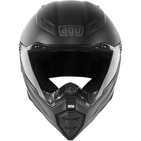 AGV AX8 Naked Carbon Black Forest Streetfighter Motorcycle