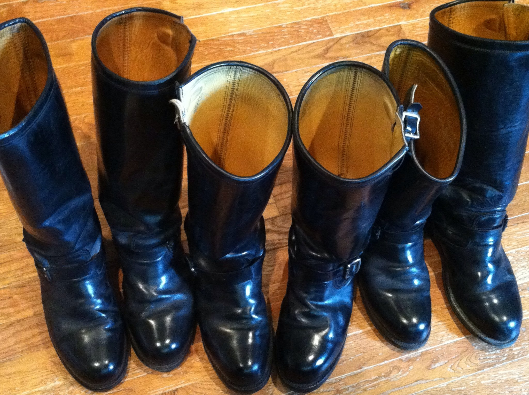 Police motorcycle boots boot end Police motor boots