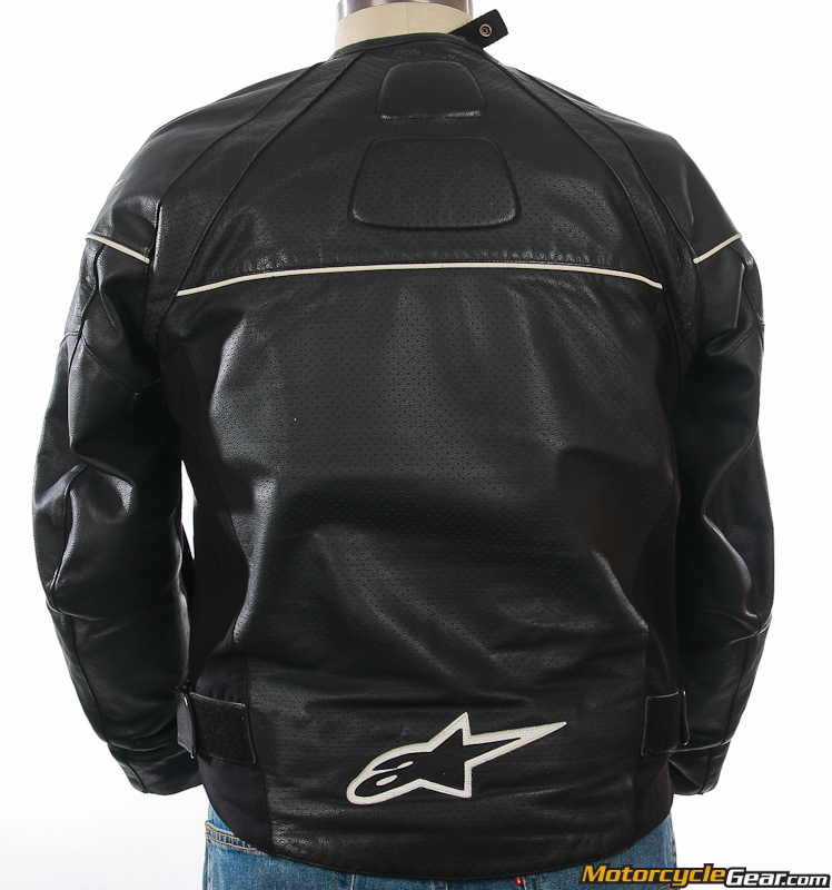 Alpinestars TZ-1 Leather Motorcycle Jacket - Leather